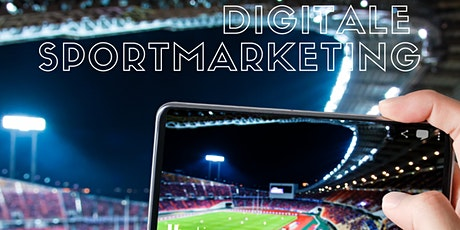 Infosessie postgraduaat digitale sportmarketing - mei tickets