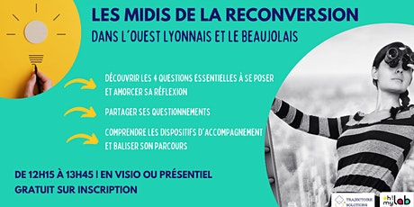 Les Midis de la Reconversion tickets
