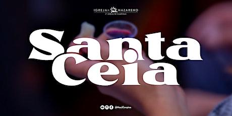 Culto de Santa Ceia | Batismo  -  06/06 - 18h tickets