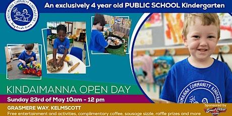 Kindaimanna Community Open Day tickets