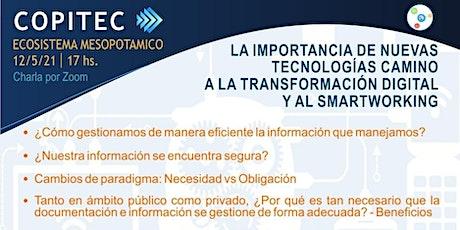 IMPORTANCIA DE LAS NUEVAS TECNOLOGÍAS: Transformación  y Smartworking. tickets