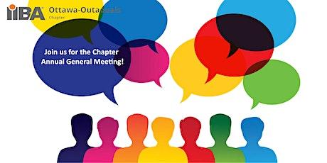 IIBA  Ottawa-Outaouais Chapter Annual General Meeting (AGM) tickets