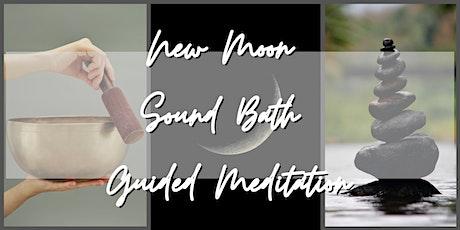 New Moon Sound Bath Guided Meditation tickets