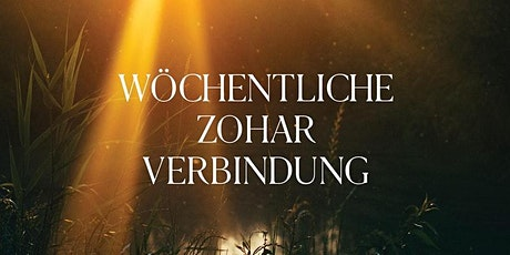 Zohar Connection Shalch Lecha (Livestream) (DE) tickets