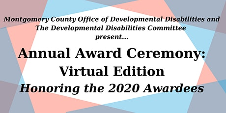 Montgomery County Annual Awards Ceremony:  Virtual Edition tickets