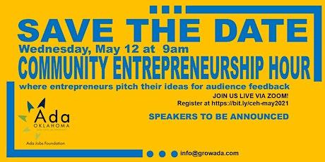Community Entrepreneurship Hour - May 2021 Meetup tickets