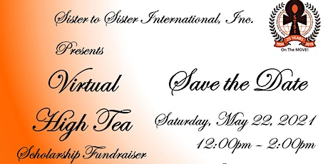 STSI Virtual High Tea Scholarship Fundraiser tickets