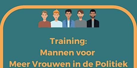 Training: Mannen voor Meer Vrouwen in de Politiek tickets