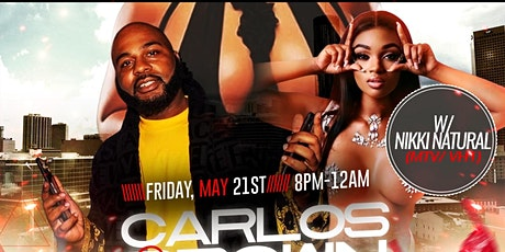 CARLOS BROWN LINGERIE & PAJAMA PARTY FEAT, NIKKI NATURAL tickets