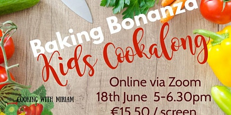 Baking Bonanza Kids Cookalong tickets