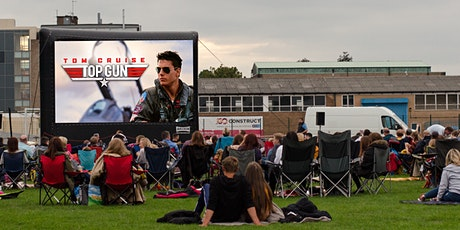 Top Gun (12A) Outdoor Cinema experience Birmingham tickets