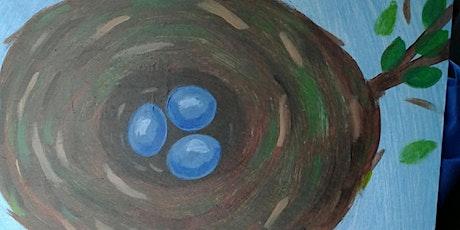 Paint Along: Bird's Nest in a Tree tickets