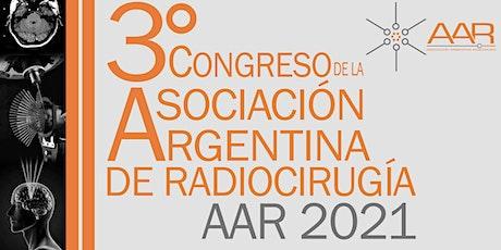 3º Congreso Virtual de la Asociación Argentina de Radiocirugía  AAR 2021 entradas