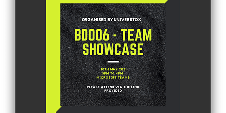 BD006 - Team Showcase tickets