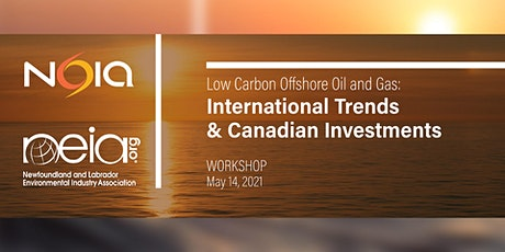 Low Carbon Offshore Oil & Gas: International Trends & Canadian Investments tickets