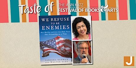 Virtual Taste of the Ann Katz Festival: We Refuse to Be Enemies tickets