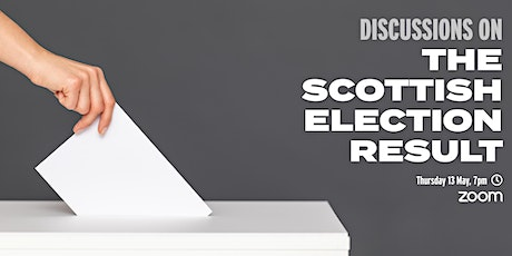 Discussions on the Scottish election result tickets