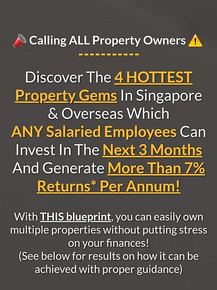 FREE Webinar: Physical Property Investing MASTERCLASS by Dr. Patrick Liew image