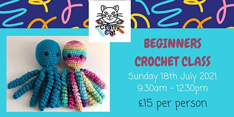 Beginners Crochet tickets