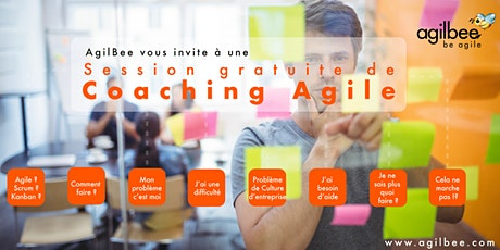 Session Gratuite de Coaching Agile et Individuel à Distance (Gratuit) tickets