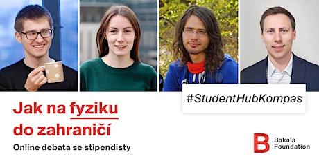 Student Hub Kompas: Jak na fyziku do zahraničí? tickets
