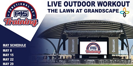 F45 Workout on the Lawn at Grandscape tickets
