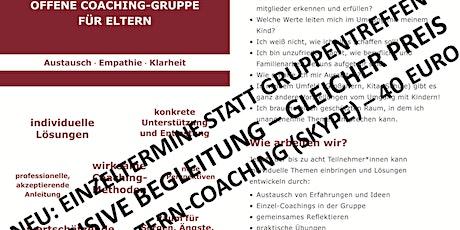Online-Coaching für Eltern: Stärkung + Klarheit für dich + deine Familie Tickets