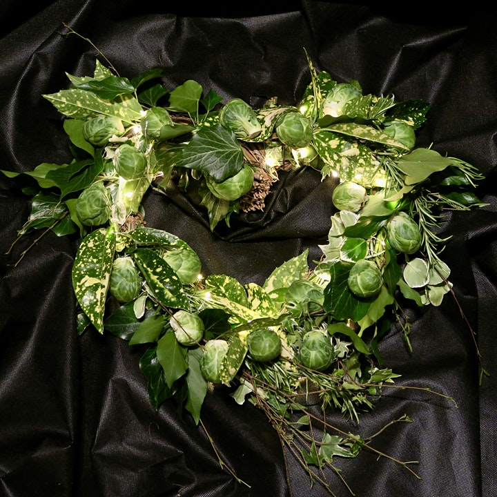 Brussel Sprout Wreath image