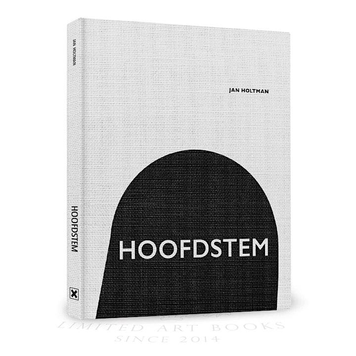 Jan Holtman's  presentatie dichtbundel 'Hoofdstem'  en expositie image