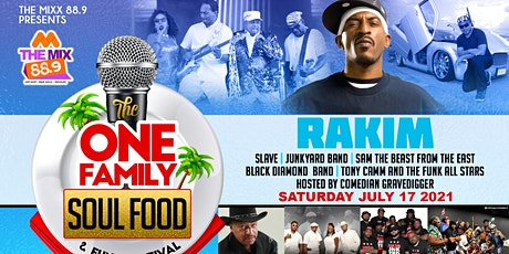 One Family Soul Food & Funk Festival tickets