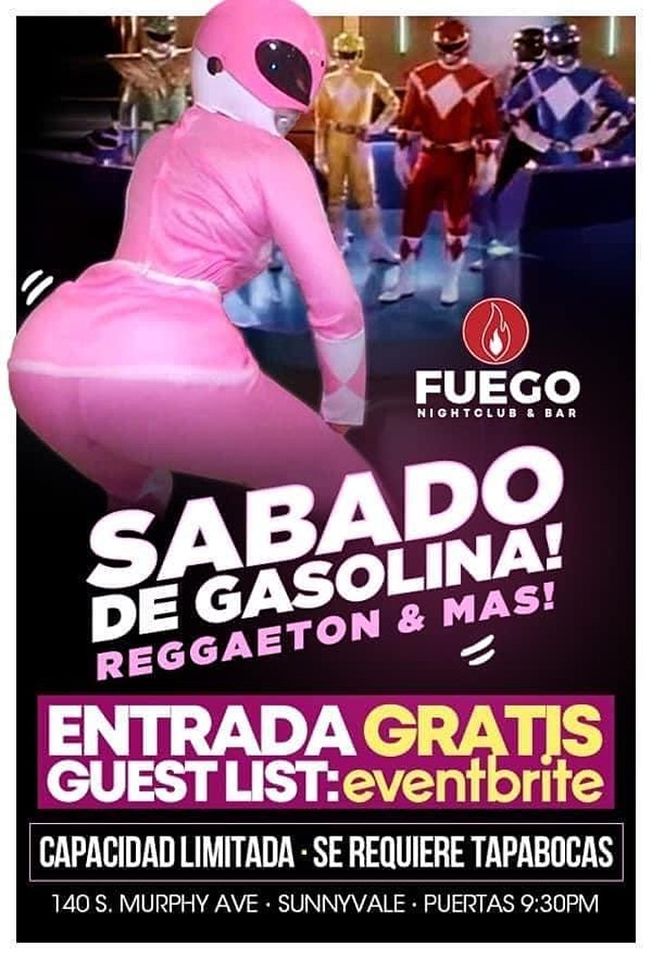 Sabado de Gasolina  - Free Guest List image