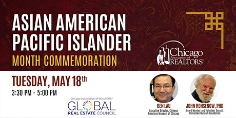 Asian American and Pacific Islander Heritage Month Commemoration tickets