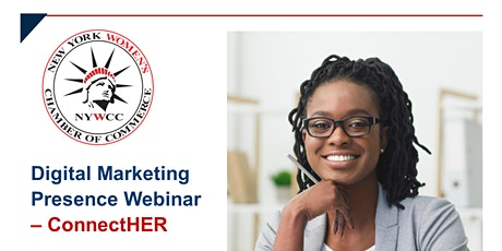 ConnectHER - Digital Marketing Presence Webinar tickets