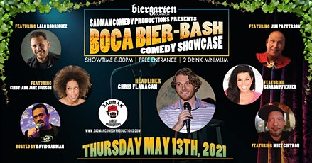 Comedy Showcase, Boca Bier-Bash tickets