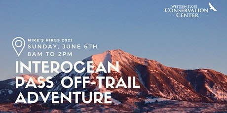Approach to Inter-Ocean Pass Trailhead: Off-trail navigation with Russ tickets