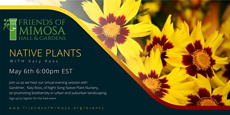 Native Plants with Katy Ross tickets