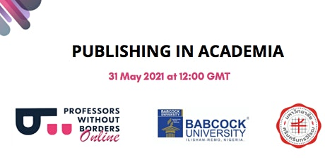 Publishing in Academia Workshop biglietti