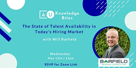 The State of Talent Availability in Today's Hiring Market tickets