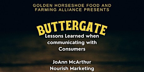 Buttergate - Lessons learned when Communicating with Consumers tickets