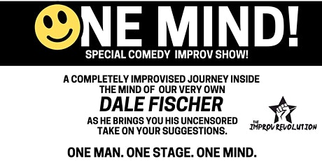 THE IMPROV REVOLUTION presents ONE MIND- Live Comedy!   (Sat Jun 19- 8pm) tickets