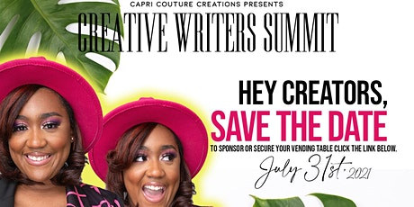 Creative Writers Summit: The Writer In You tickets