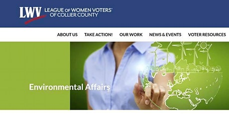 Conversation with LWVCC Environmental Affairs Committee tickets