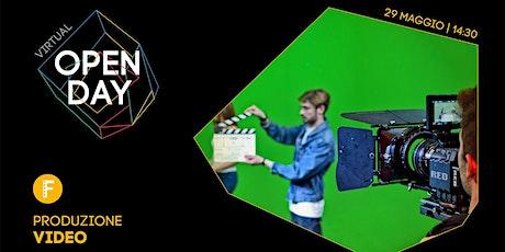 Virtual Open Day • Produzione Video biglietti