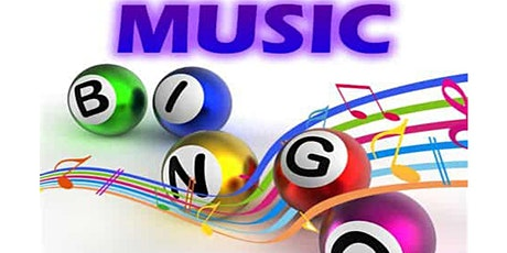 Music Bingo & Karaoke  (Rock and Roll hits)  Fundraiser via Zoom (EB) tickets