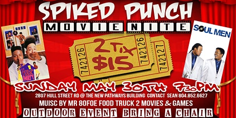 Spiked Punch Movie Night tickets