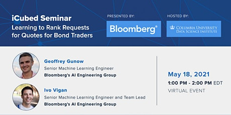 iCubed Seminar: Bloomberg's AI Engineering Group tickets