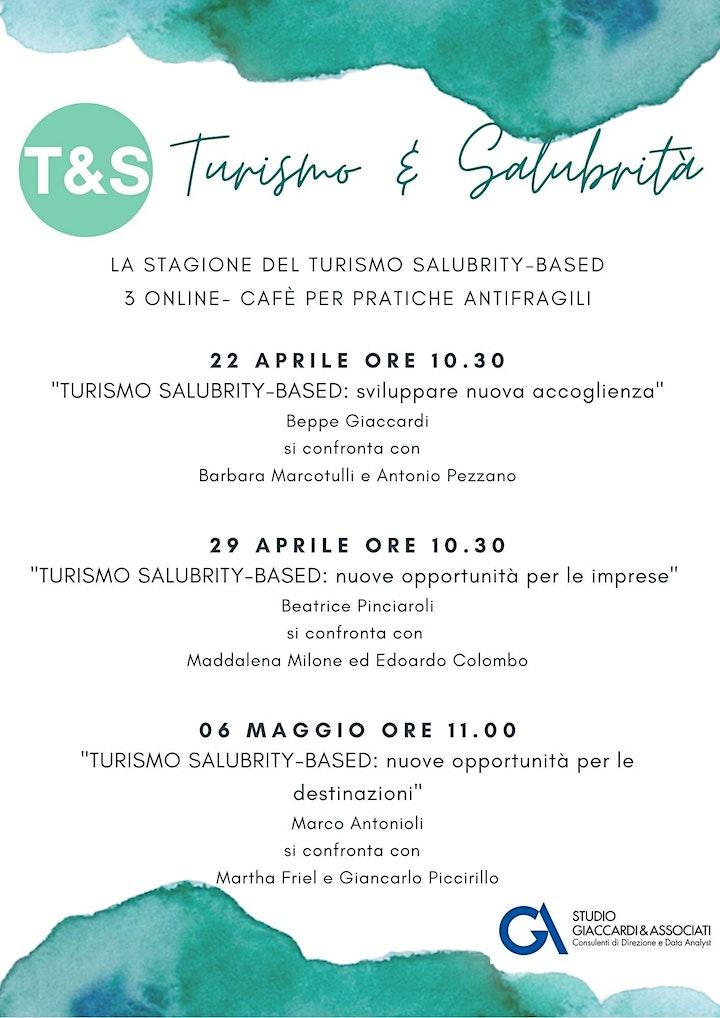Immagine Stagione del turismo salubrity-based:3 online cafè per pratiche antifragili