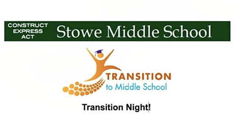 *REMOTE* 5th Grade [Parent] Transition Night for Stowe Middle School tickets