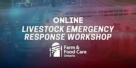 Livestock Emergency Response Workshop- July 22 tickets