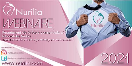 Recrutement de la force commerciale du laboratoire Nurilia billets